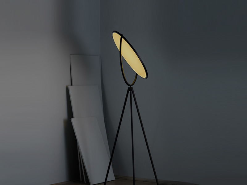 Bring exceptional light to the darkest corners of your home with stylish designer floor lamps