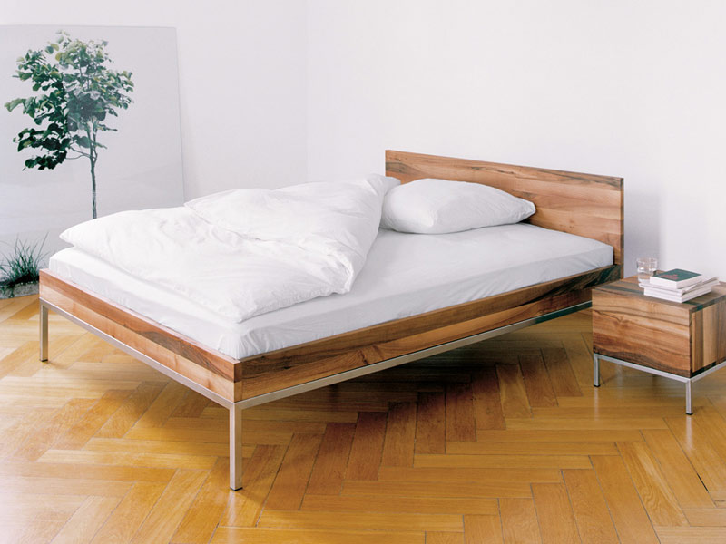 Experience premium comfort with our collection of beautiful modern beds from E15, Zanotta and others