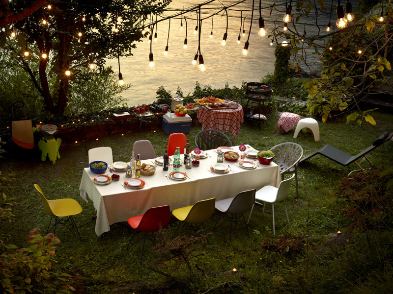 Deck your patio and refresh your garden with designer, weatherproof outdoor furniture