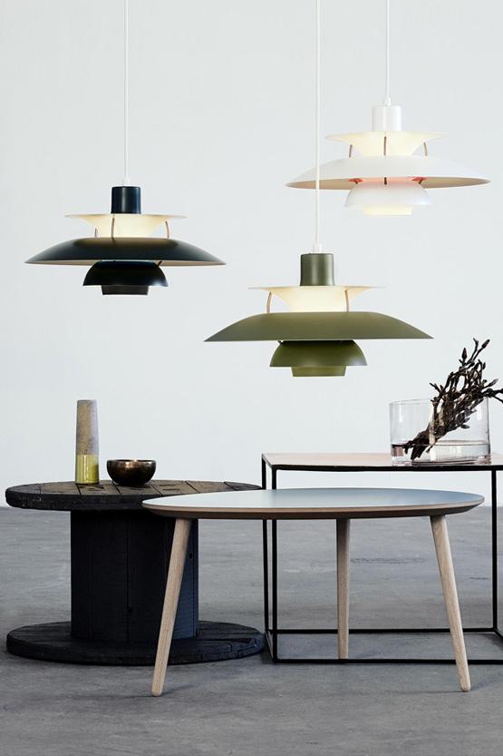 Louis Poulsen PH 5 Pendant Light Contemporary Colours