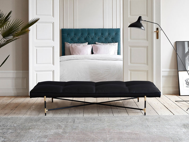 Relax and unwind with elegant chaise longues and day beds for the bedroom, hallway and beyond