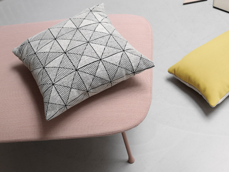 Bring texture, print, colour and warmth to your home with designer cushions from Nest.co.uk